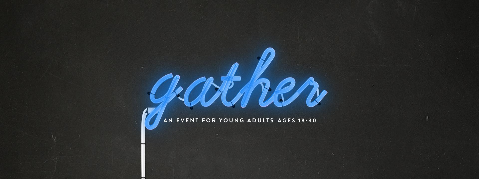 gather web banner